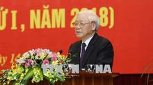 Tổng bí thư khai giảng lớp cập nhật kiến thức dành cho các ủy viên TƯ