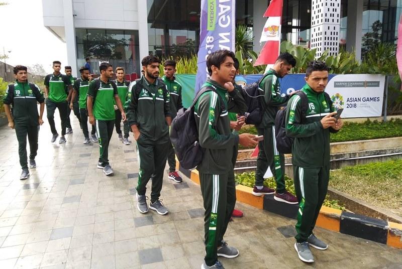 Các cầu thủ U23 Pakistan