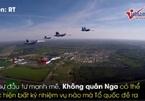 Hình ảnh ấn tượng trong lễ kỷ niệm 106 năm thành lập Không quân Nga