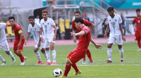 Trực tiếp U23 Việt Nam 3-0 U23 Pakistan: Công Phượng ghi bàn (H2)