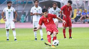 Công Phượng 2 lần hỏng phạt đền, U23 Việt Nam hụt thắng 5 sao