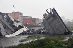 Sập cầu tại Italia, nhiều người thiệt mạng