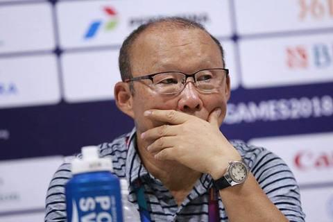 LV Park Hang Seo chưa hài lòng về chiến thắng của đội nhà