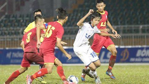 U15 Sài Gòn 2-0 An Giang
