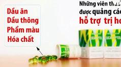 Thuốc ho sản xuất từ dầu ăn và phẩm màu