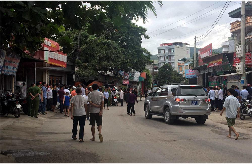 Nổ súng tại Điện Biên, 2 vợ chồng và 1 người lạ tử vong