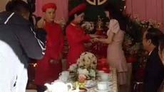 Nhã Phương lộ vòng 2 to bất thường trong đám cưới em gái được chia sẻ rầm rộ