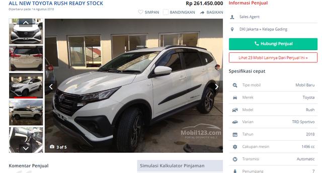 Soi giá những chiếc xe nhập Thái, Indonesia đang 'hot' ở Việt Nam
