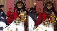 Nhã Phương lộ vòng 2 to bất thường trong đám cưới của em gái
