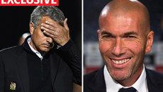 Zidane sẵn sàng thay Mourinho dẫn dắt MU