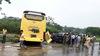 Xe giường nằm đâm nát ô tô 7 chỗ trên cao tốc Nội Bài - Lào Cai