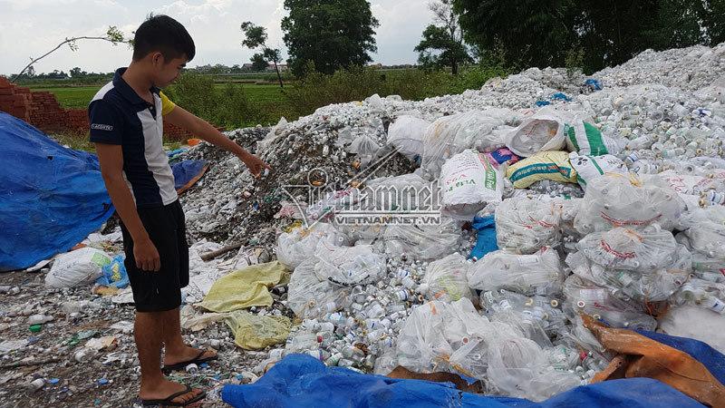 phế liệu,môi trường,ô nhiễm môi trường,thanh tra