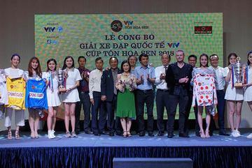 Giải xe đạp quốc tế VTV Cúp Tôn Hoa Sen 2018: Tiền thưởng khủng
