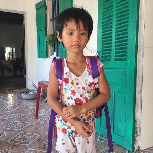 Bé Phan Thị Hà Vy đã được hỗ trợ mổ tim