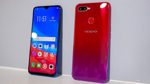 2 mặt Oppo F9