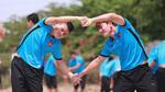 Quang Hải, Minh Vương ngượng ngùng kết hình trái tim
