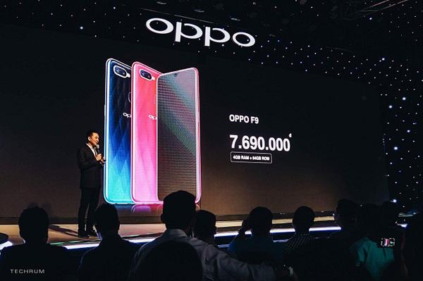 OPPO F9 được 'săn đón' ngay từ khi chưa công bố giá
