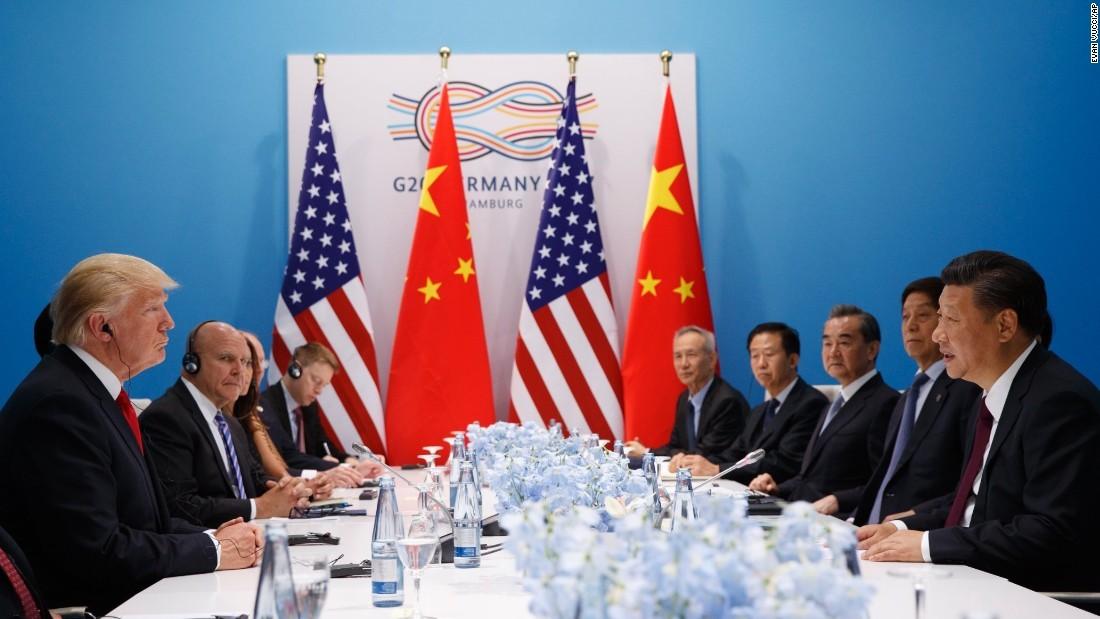 Chiến tranh thương mại,Cuộc chiến thương mại,Mỹ - Trung