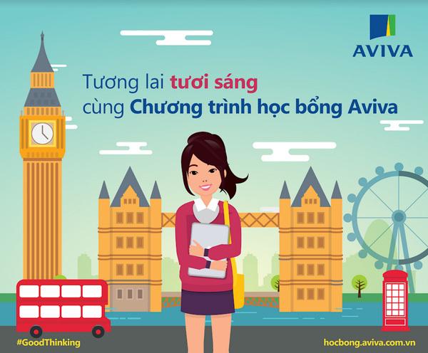 Học bổng du học 400 triệu đồng từ Aviva Việt Nam