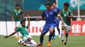 Đá bế tắc, U23 Thái Lan vất vả cầm hòa U23 Bangladesh