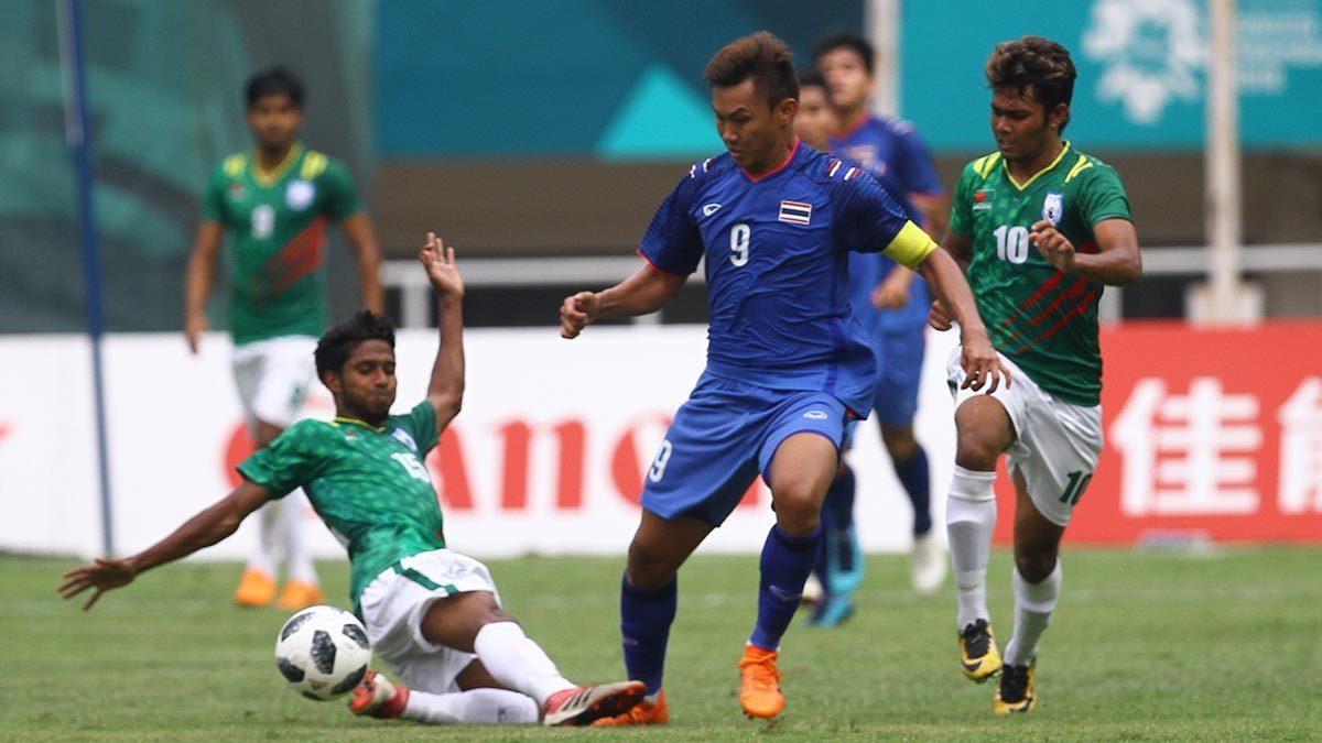 Bóng đá Thái Lan sạch bóng ở ASIAD 18