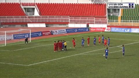 U15 Sài Gòn 0-0 Bình Dương