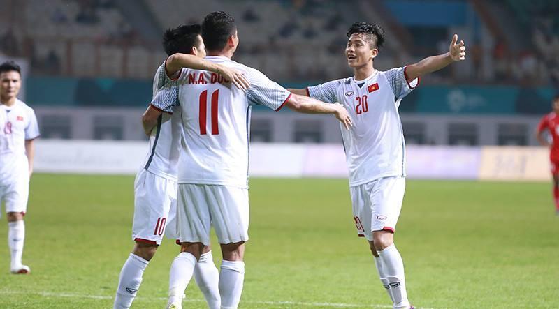 Bản quyền Asiad 18,U23 Việt Nam