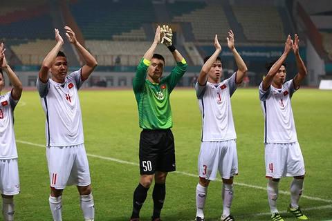 U23 Việt Nam cảm ơn người hâm mộ sau trận thắng Nepal