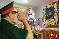Tiễn đưa Thiếu tá tình báo Nguyễn Văn Thương về đất mẹ
