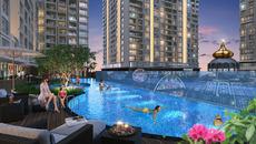 Bể bơi 2 đáy, thiết kế bền vững ở Hinode City