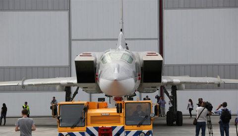 Hình ảnh máy bay ném bom hạt nhân Nga 'ác mộng' với Mỹ