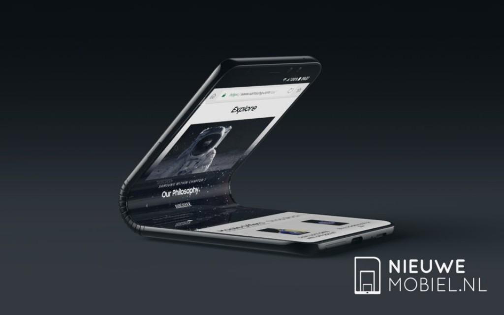 Đây là chiếc Galaxy X, smartphone màn hình gập số 1 của Samsung