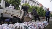 Biệt thự triệu đô ở Hà Nội hối hả 'đắp đập be bờ' chống bão