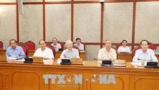 Bộ Chính trị, Ban Bí thư học tập chuyên đề về công tác đối ngoại