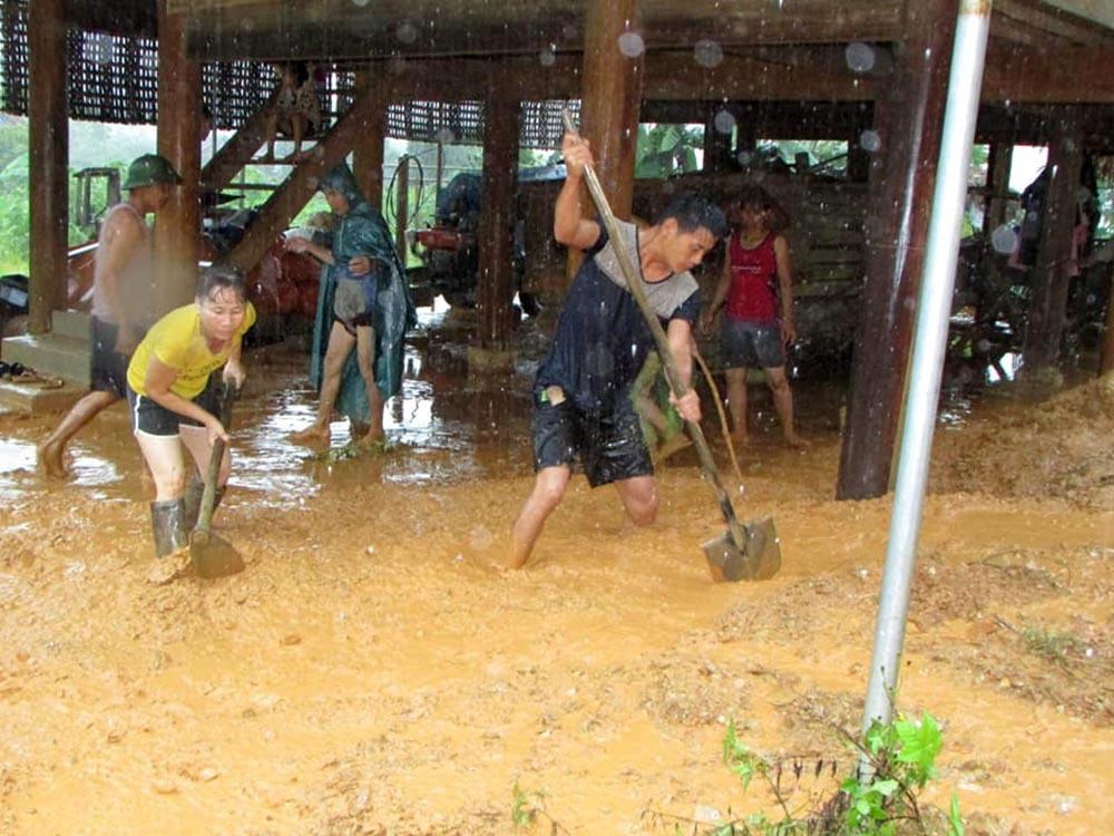 lũ lụt,Nghệ An,mưa lũ,bão số 4