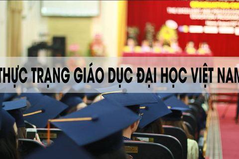 Con số giáo dục đại học Việt Nam 2018