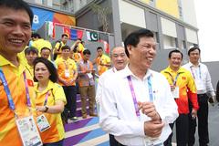 Bộ trưởng Nguyễn Ngọc Thiện hết lời khen ngợi U23 Việt Nam