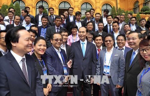 Chủ tịch nước: Tận dụng các thành tựu tiên tiến để phục vụ phát triển KT-XH