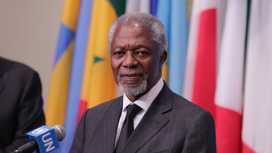 Cựu Tổng thư ký Liên Hợp Quốc Kofi Annan qua đời