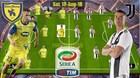 Chievo 0-1 Juventus: Ronaldo bỏ lỡ đáng tiếc (H1)