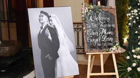 Toàn cảnh đám cưới của Á quân Next Top Model Tuyết Lan và ông xã
