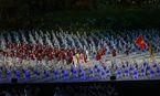 Lễ khai mạc Asiad 18: Đoàn Việt Nam tiến ra sân khấu
