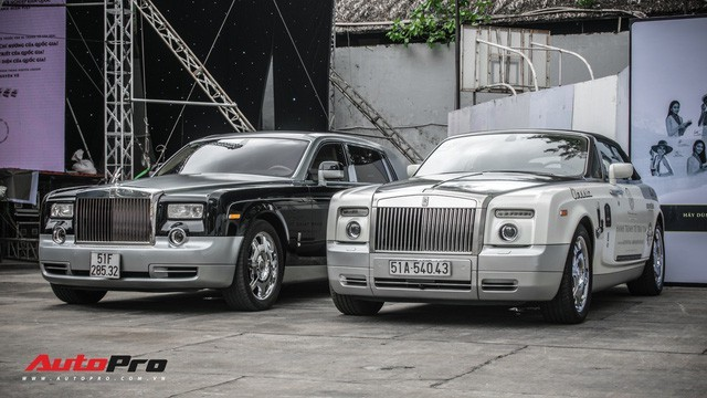 Rolls-Royce Phantom EWB 'bí ẩn' của ông chủ cà phê Trung Nguyên xuất hiện tại Sài Gòn