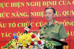 Bộ trưởng Tô Lâm: Khẩn trương đổi mới, sắp xếp tổ chức bộ máy Bộ Công an