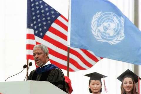 Kofi Annan – con người của hoà bình