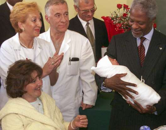 Kofi Annan,Tổng thư ký LHQ,Kofi Annan qua đời