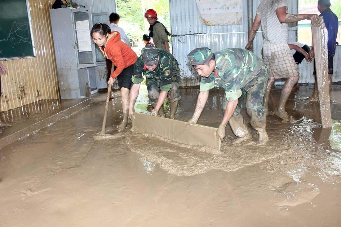 lũ lụt,lũ bùn,Nghệ An