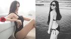Bạn gái cầu thủ U23 Việt Nam khoe dáng với bikini