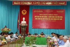 Chủ tịch Tôn Đức Thắng: Người cộng sản mẫu mực, nhà lãnh đạo nổi tiếng