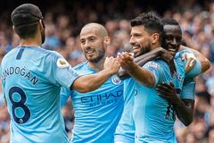 "Aguero ""nổ"" hat-trick, Man City đè bẹp Huddersfield"